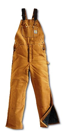 Carhartt� Arctic Bib Overall R03 - Quilt Lined R03